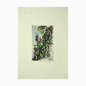 Guelfo Bianchini - Blumen - Radierung auf Papier - 1961
