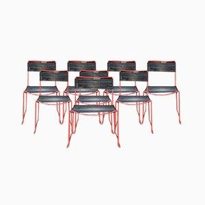 Scoubidou Stacking Chairs, Set of 8