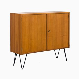 Slim Walnut Chest of Drawers, 1960s
