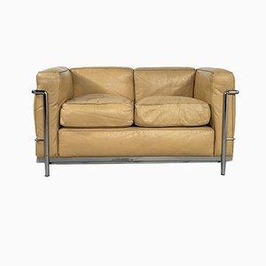 LC2 2-Sitzer Sofa von Le Corbusier für Cassina, 1970er