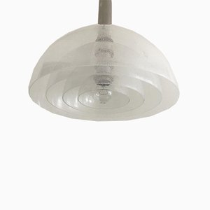 Mid-Century Italian LT 338 Glass Pendant Lamp by Carlo Nason for Mazzega