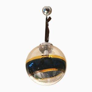 Murano Blown Glass Suspension Lamp by Paolo Venini for Targetti, 1960s