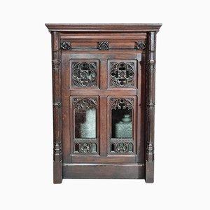 Gothischer Eiche Credence Tisch