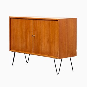 Teak Sideboard with Hairpin Legs from WK Möbel, 1960s
