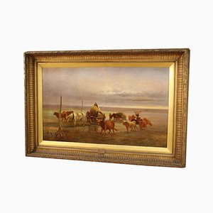 Pintura de paisaje grande, 1889