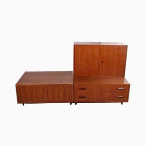Vintage Metal Cabinets, 1960s, Set of 3
