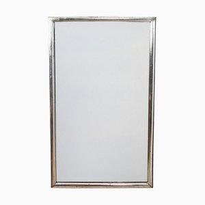 Specchio antico con cornice in argento, Francia
