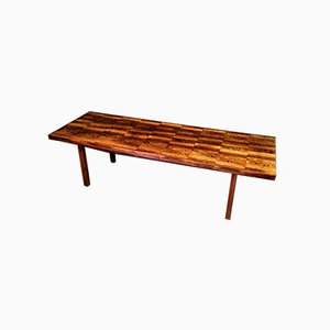 Mid-Century Danish Rosewood Coffee Table from Bramin