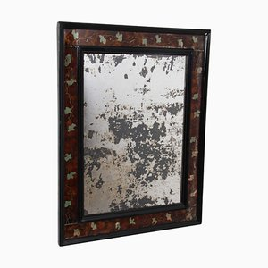 French Colored Glass Mirror