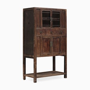 Chinese Elm Cabinet, 1800s
