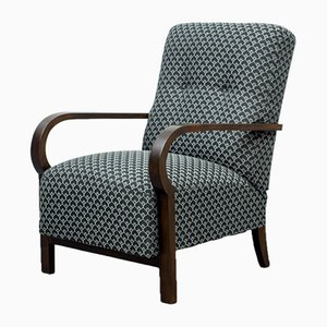 Bauhaus Bentwood Lounge Chair, 1940s