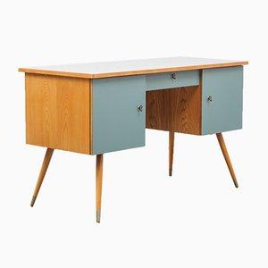 Ash & Formica Desk, 1950s