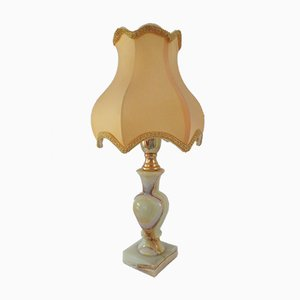 Lampada da tavolo Mid-Century in onice