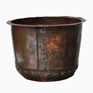 Viktorianischer Kupfer Kessel