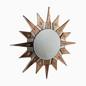 English Sunburst Mirror, 1930s