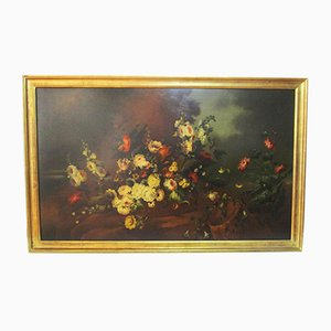 Large Floral Painting
