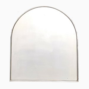 Specchio vintage in acciaio, Italia, anni '40