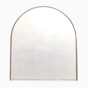 Vintage Italian Steel Mirror, 1940s