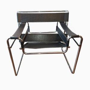 Club chair Wassily di Marcel Breuer per Gavina, 1972