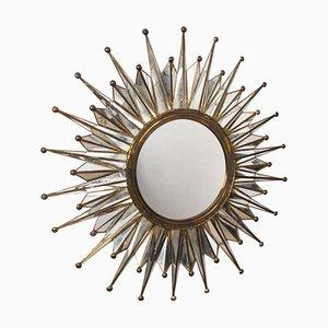 French Sunburst Mirror, 1960s