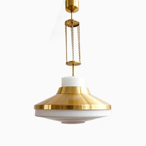 Vintage Czechoslovak Hanging Lamp from Napako, 1970s