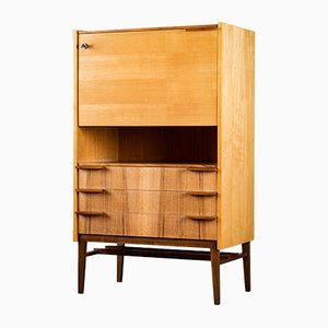 Mid-Century Secretaire by Frantisek Mezulanik for UP Závody, 1960s