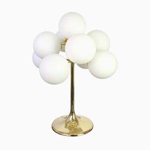 Swiss Brass Atomic Table Lamp, 1960s