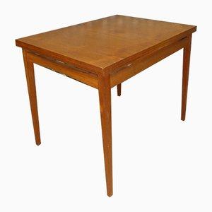 Tavolo da pranzo Mid-Century girevole in teak, anni '60