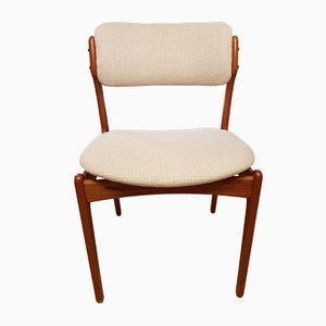 Mid-Century Teak Mo Mobler Side Chairs by Erik Buch for O.D. Møbler, Set of 8