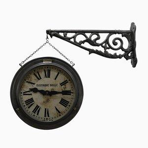 Antike Doppelseitige Uhr von Brillié