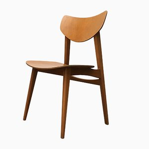 Mid-Century Plywood Side Chair
