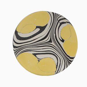 Newton's Bucket Gelbe Acryl Schale von Silo Studio