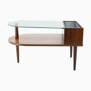 Tavolino da caffè di Johannes Andersen per Silkeborg, anni '60, Danimarca