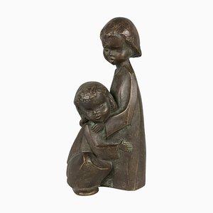 Handgefertigte Vintage Achaten Skulptur, 1970er