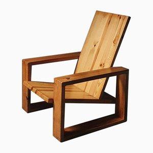 Sedia in pino di Ate van Apeldoorn