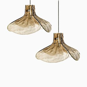 Model LS185 Pendant Lamp by Carlo Nason for Mazzega
