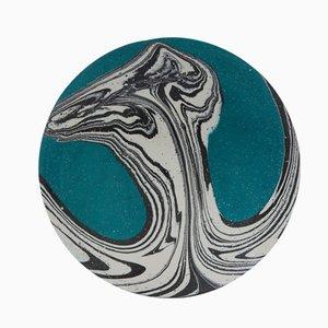 Blaugrüne Newtons Eimer Acryl Schale von Silo Studio