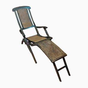 Chaise longue de paja, Italia, años 30