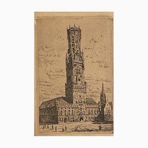 Unknown - City of Banges - Etching on Paper - 1920s