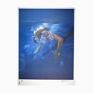 Kim Hyang - The Swimmer - Lithograph - 2008