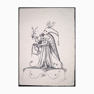 Salvador Dalí - Pantagruel's Funny Dreams - Lithograph - 1973
