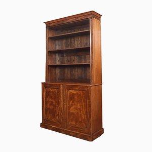 Bücherregal aus Mahagoni, 19. Jh