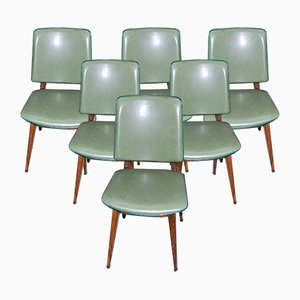 Vintage Dining Room Chairs, Set of 6