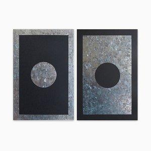 O2a-b, Abstrakte Malerei, 2018