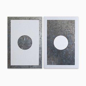 O3a-b, Abstrakte Malerei, 2018