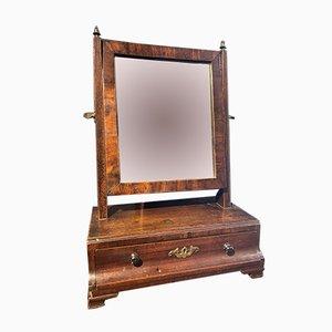 Specchio Giorgio II in mogano, metà XVIII secolo