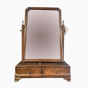 George I Walnut Mirror, 1720s