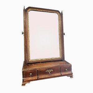 Specchio Giorgio I in mogano, inizio XVIII secolo