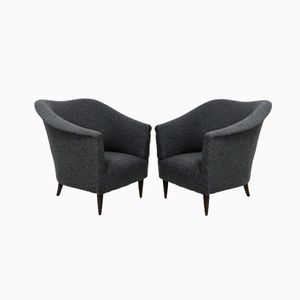 Club Chairs by Ico Parisi, Set of 2