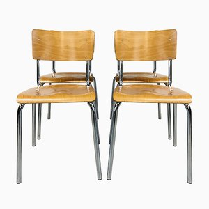 The White Gispen Stacking Chair